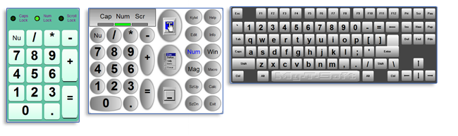 touch screen keyboard